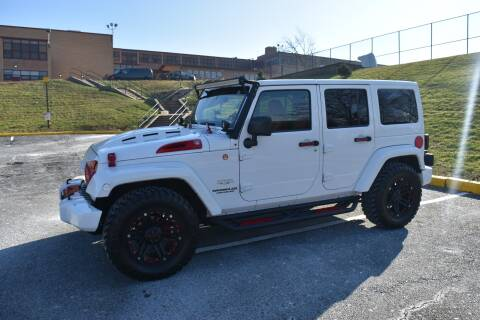 2011 Jeep Wrangler Unlimited for sale at JG Auto Sales in North Bergen NJ