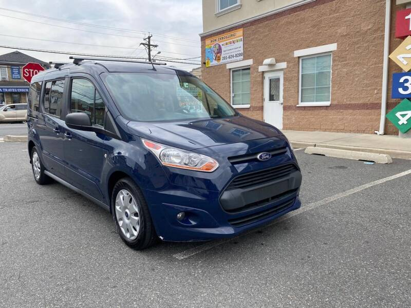 2016 Ford Transit Connect Wagon for sale at JG Auto Sales in North Bergen NJ
