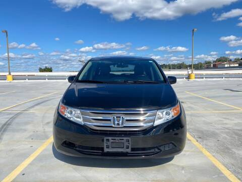 2013 Honda Odyssey for sale at JG Auto Sales in North Bergen NJ