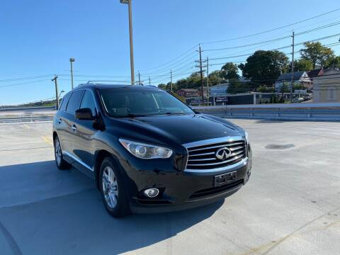 2013 Infiniti JX35 for sale at JG Auto Sales in North Bergen NJ