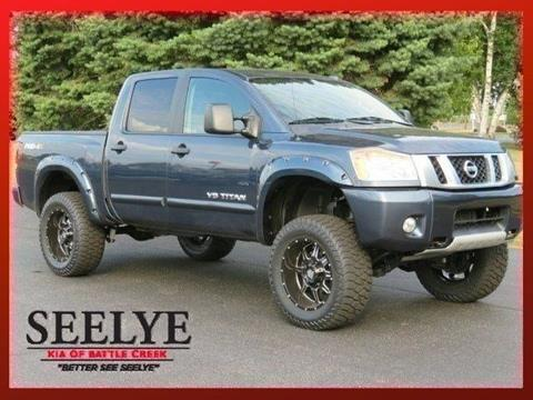 2014 Nissan Titan for sale in Battle Creek, MI