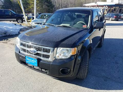 2009 Ford Escape for sale at Lewis Auto Sales in Lisbon ME