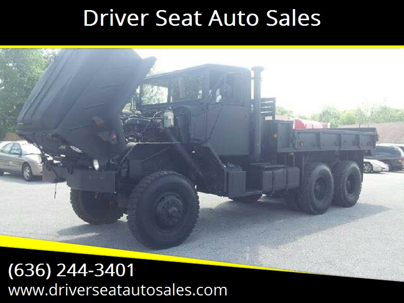 1984 AM General 923 for sale at Driver Seat Auto Sales in St. Charles MO