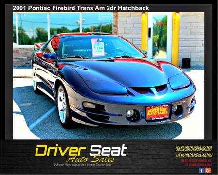 2001 Pontiac Firebird for sale in St. Charles, MO