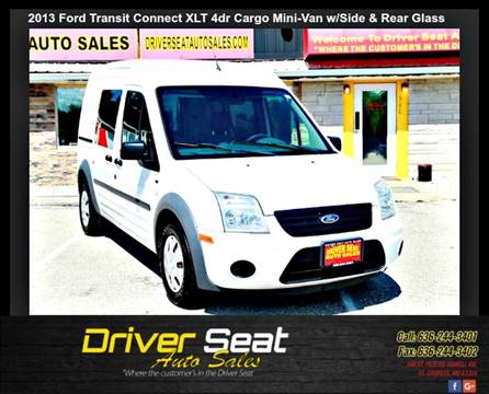2013 Ford Transit Connect for sale at Driver Seat Auto Sales in St. Charles MO