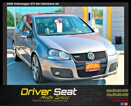 2009 Volkswagen GTI for sale at Driver Seat Auto Sales in St. Charles MO