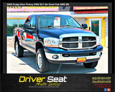 2006 Dodge Ram Pickup 2500 for sale at Driver Seat Auto Sales in St. Charles MO