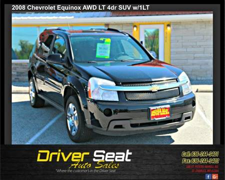 2008 Chevrolet Equinox for sale at Driver Seat Auto Sales in St. Charles MO