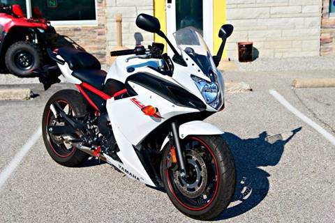 2013 Yamaha FZ6R for sale at Driver Seat Auto Sales in St. Charles MO