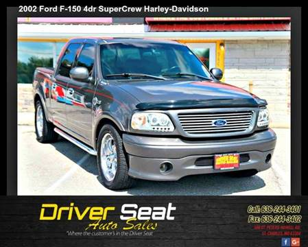 2002 Ford F-150 for sale at Driver Seat Auto Sales in St. Charles MO