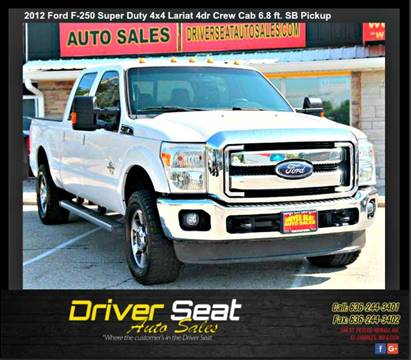 2012 Ford F-250 Super Duty for sale at Driver Seat Auto Sales in St. Charles MO