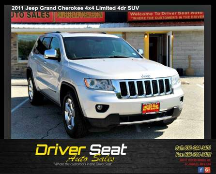 2011 Jeep Grand Cherokee for sale at Driver Seat Auto Sales in St. Charles MO