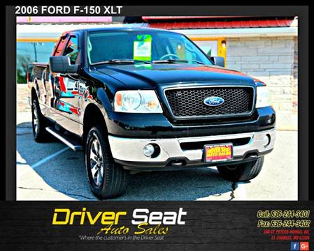 2006 Ford F-150 for sale at Driver Seat Auto Sales in Saint Charles MO