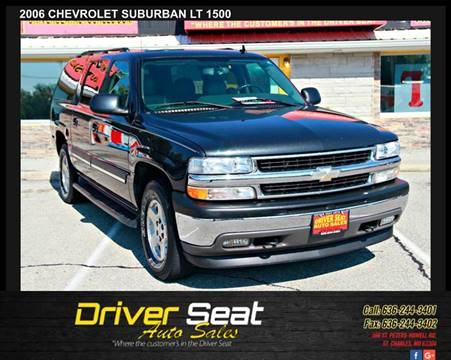 2006 Chevrolet Suburban for sale at Driver Seat Auto Sales in St. Charles MO