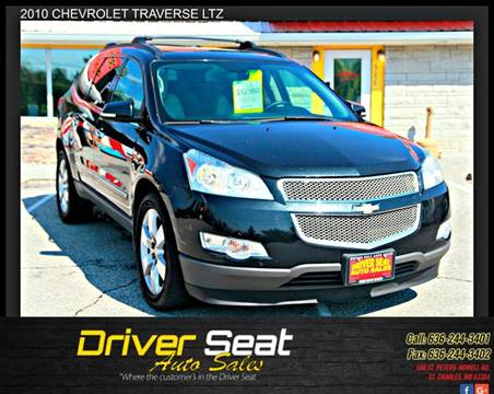 2010 Chevrolet Traverse for sale at Driver Seat Auto Sales in St. Charles MO