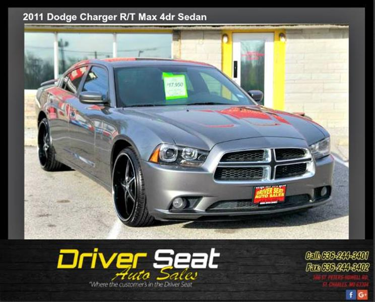 2011 Dodge Charger Rt For Sale >> 2011 Dodge Charger R T Max In St Charles Mo Driver Seat Auto Sales