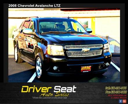 2008 Chevrolet Avalanche for sale at Driver Seat Auto Sales in St. Charles MO