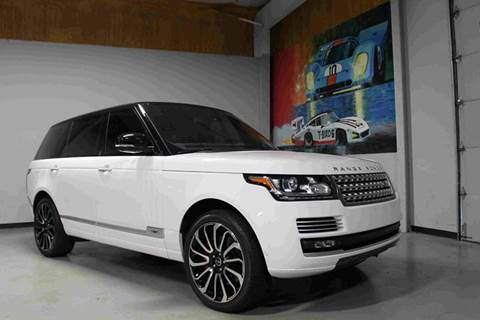 2015 Land Rover Range Rover for sale at Indy Wholesale Direct in Carmel IN