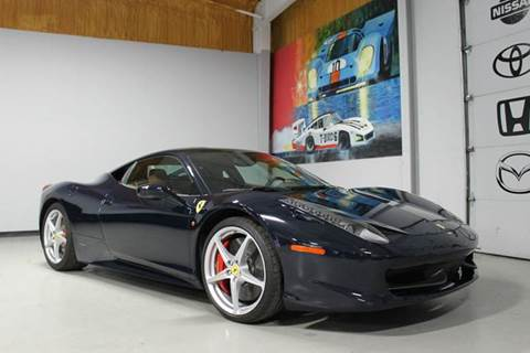 2012 Ferrari 458 Italia for sale at Indy Wholesale Direct in Carmel IN