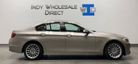 2012 BMW 5 Series for sale at Indy Wholesale Direct in Carmel IN