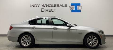 2015 BMW 5 Series for sale at Indy Wholesale Direct in Carmel IN