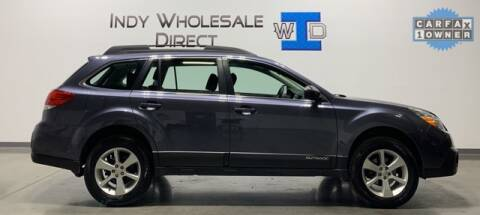 2014 Subaru Outback for sale at Indy Wholesale Direct in Carmel IN