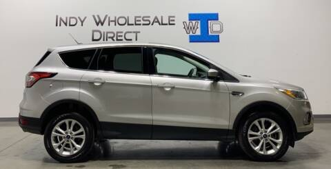 2017 Ford Escape for sale at Indy Wholesale Direct in Carmel IN