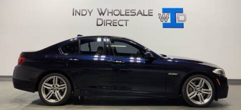2013 BMW 5 Series for sale at Indy Wholesale Direct in Carmel IN