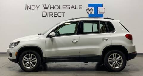2016 Volkswagen Tiguan for sale at Indy Wholesale Direct in Carmel IN