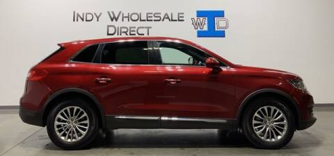 2016 Lincoln MKX for sale at Indy Wholesale Direct in Carmel IN