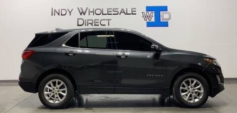 2018 Chevrolet Equinox for sale at Indy Wholesale Direct in Carmel IN