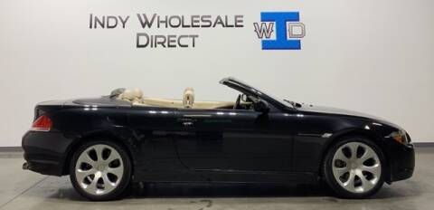 2004 BMW 6 Series for sale at Indy Wholesale Direct in Carmel IN