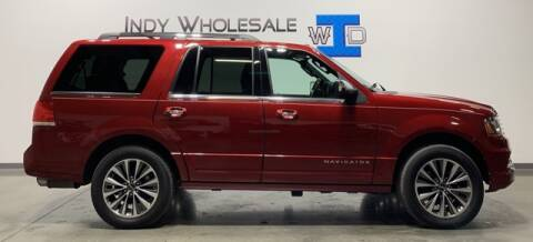 2015 Lincoln Navigator for sale at Indy Wholesale Direct in Carmel IN