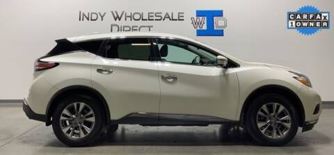 2016 Nissan Murano for sale at Indy Wholesale Direct in Carmel IN