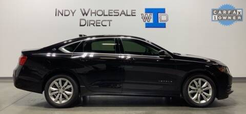 2016 Chevrolet Impala for sale at Indy Wholesale Direct in Carmel IN