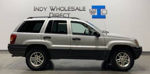 2004 Jeep Grand Cherokee for sale at Indy Wholesale Direct in Carmel IN