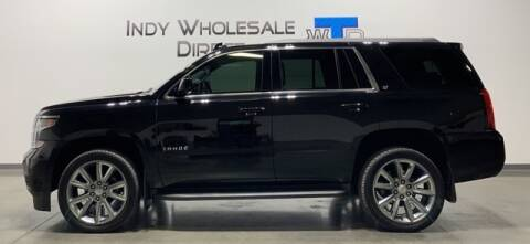 2017 Chevrolet Tahoe for sale at Indy Wholesale Direct in Carmel IN