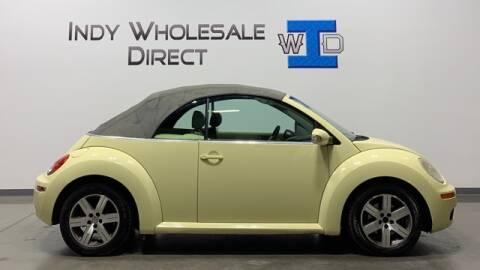 2006 Volkswagen New Beetle Convertible for sale at Indy Wholesale Direct in Carmel IN