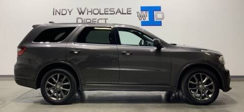 2014 Dodge Durango for sale at Indy Wholesale Direct in Carmel IN
