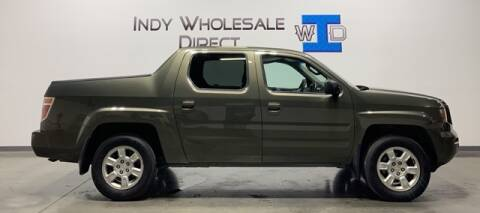 2006 Honda Ridgeline for sale at Indy Wholesale Direct in Carmel IN