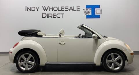 2007 Volkswagen New Beetle Convertible for sale at Indy Wholesale Direct in Carmel IN