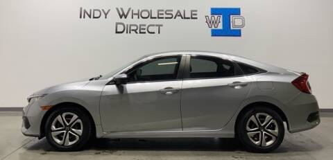 2016 Honda Civic for sale at Indy Wholesale Direct in Carmel IN