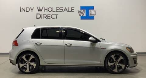 2015 Volkswagen Golf GTI for sale at Indy Wholesale Direct in Carmel IN