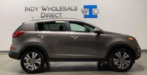 2013 Kia Sportage for sale at Indy Wholesale Direct in Carmel IN