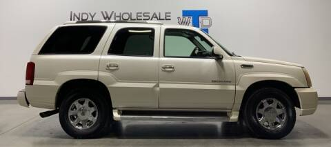 2005 Cadillac Escalade for sale at Indy Wholesale Direct in Carmel IN