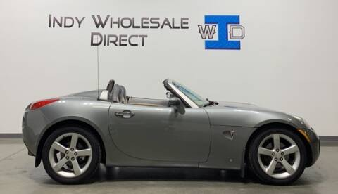 2006 Pontiac Solstice for sale at Indy Wholesale Direct in Carmel IN