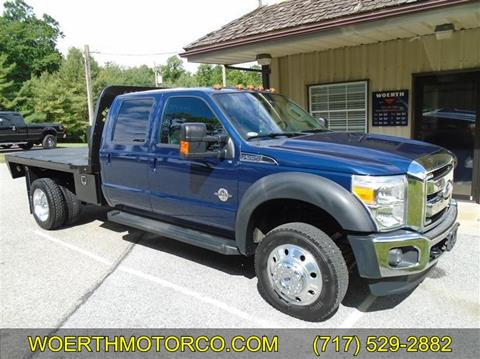 2012 Ford F-550 Super Duty for sale in Christiana, PA