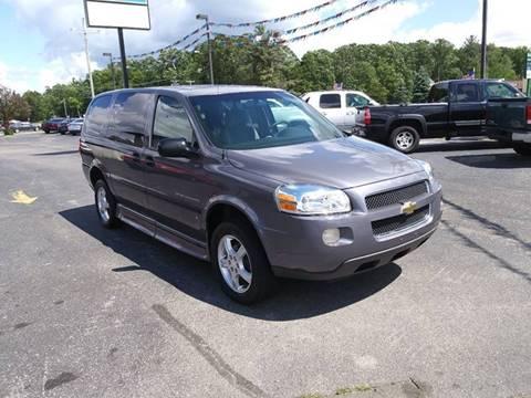 2007 Chevrolet Uplander Handicap Van