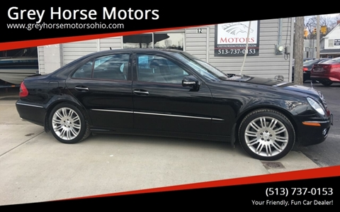 2007 Mercedes-Benz E-Class for sale at Grey Horse Motors in Hamilton OH