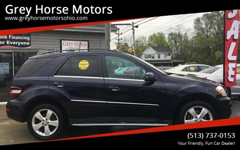 2011 Mercedes-Benz M-Class for sale at Grey Horse Motors in Hamilton OH